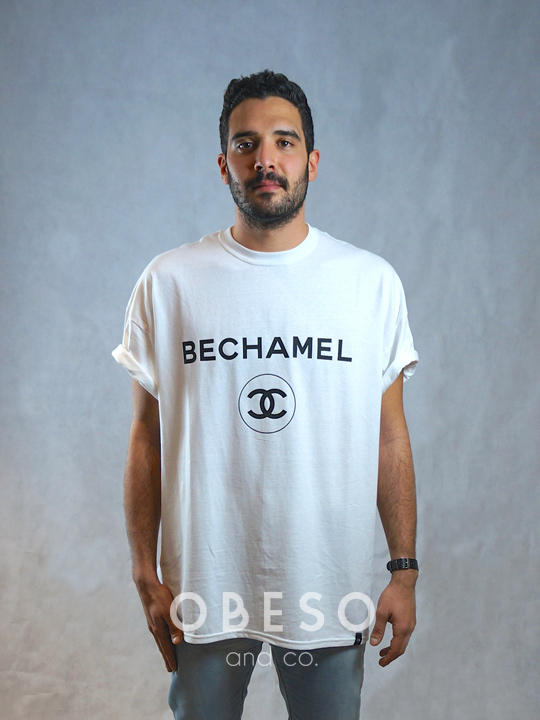 Camiseta Bechamel círculo - Obeso and co. 4279f862cbf86