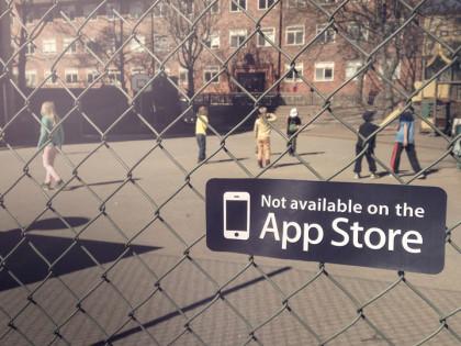No disponible en la App Store